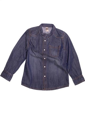 Chemise manches longues garçon TAPE À L'OEIL bleu 6 ans hiver #1499164_1