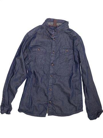 Chemise manches longues garçon URBAN 65 OUTLAWS bleu 11 ans hiver #1499184_1
