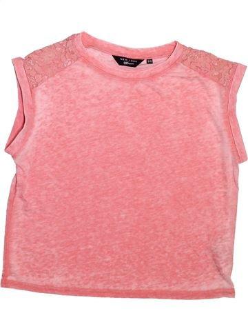 Camiseta de manga corta niña NEW LOOK rosa 13 años verano #1499205_1