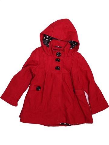 Abrigo niña NEXT rojo 3 años invierno #1499284_1