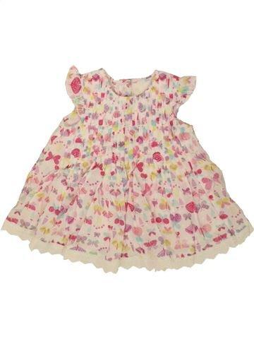 Vestido niña GEORGE rosa 12 meses verano #1499388_1