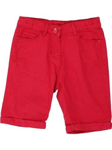 Short-Bermudas niña MATALAN rojo 9 años verano #1499482_1
