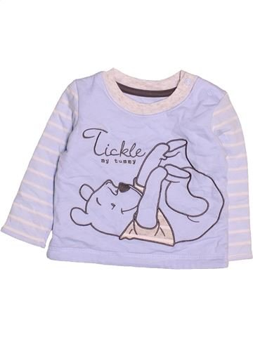Camiseta de manga larga niño GEORGE violeta 3 meses invierno #1499484_1