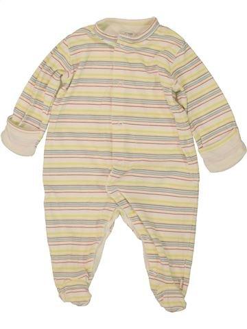 Pijama de 1 pieza niño MAMAS & PAPAS blanco 6 meses verano #1499533_1