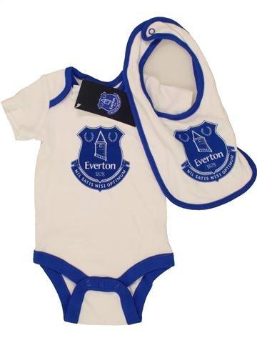 T-shirt manches courtes garçon EVERTON bleu 3 mois été #1499556_1
