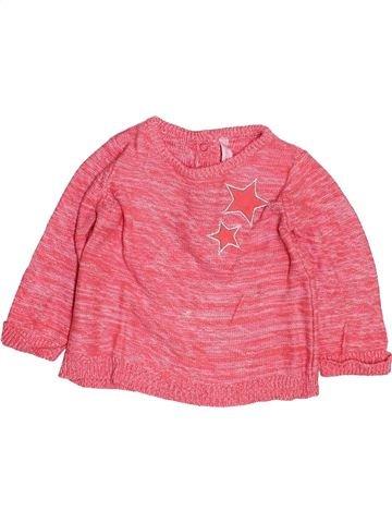 jersey niña GEMO rosa 12 meses invierno #1499561_1