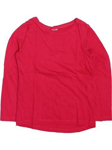 Camiseta de manga larga niña KIABI rojo 4 años invierno #1499564_1