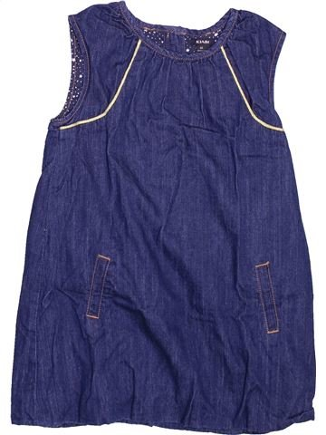 Vestido niña KIABI azul 4 años invierno #1499587_1