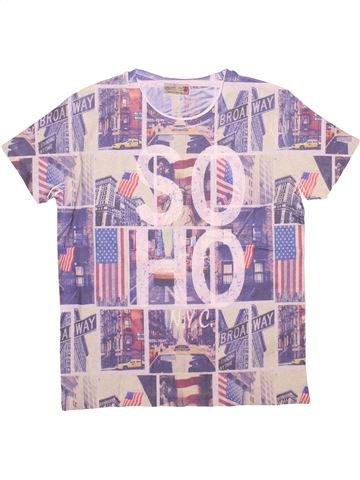 Camiseta de manga corta niño ZARA rosa 14 años verano #1499637_1