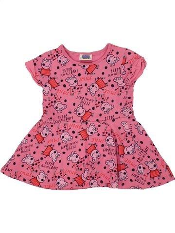 Vestido niña GEORGE rosa 2 años verano #1499648_1
