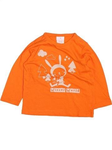 Camiseta de manga larga niño KIABI naranja 18 meses invierno #1499667_1