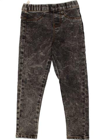 Jean fille PEP&CO gris 6 ans hiver #1499688_1