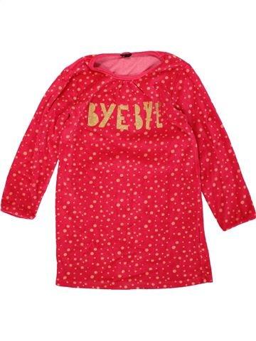 Chemise de nuit fille KIABI rouge 6 ans hiver #1499776_1
