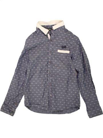 Chemise manches longues garçon ORCHESTRA gris 10 ans hiver #1499783_1