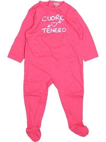 Pijama de 1 pieza niña GRAIN DE BLÉ rosa 12 meses verano #1499810_1