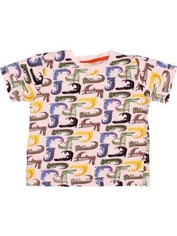 Camiseta de manga corta niño NUTMEG rosa 5 años verano #1499841_1
