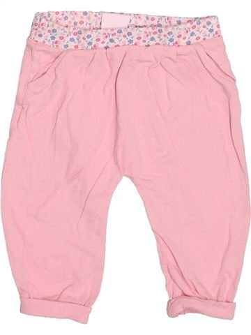 Pantalón niña F&F rosa 6 meses verano #1499852_1