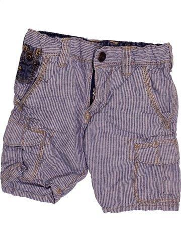 Short-Bermudas niño OKAIDI violeta 3 años verano #1499891_1