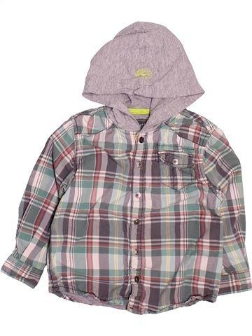 Camisa de manga larga niño OKAIDI gris 3 años invierno #1499893_1