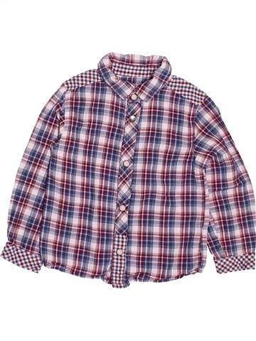 Chemise manches longues garçon KIMBALOO gris 3 ans hiver #1499895_1