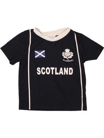 Camiseta deportivas niño RUGBY NATIONS negro 5 años verano #1499926_1