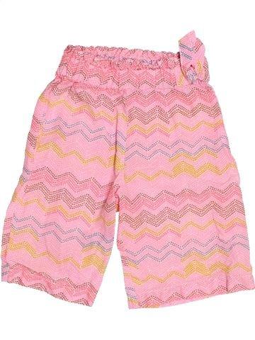 Pantalón corto niña KIABI rosa 12 meses verano #1499933_1