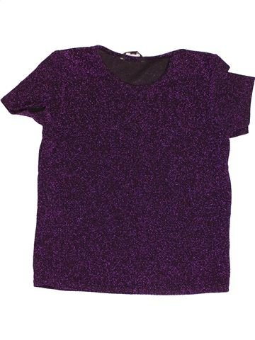 T-shirt manches courtes fille CANDY COUTURE violet 13 ans hiver #1500028_1