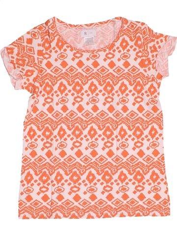 T-shirt manches courtes fille LA REDOUTE CRÉATION rose 10 ans été #1500110_1