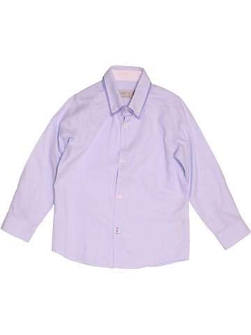Camisa de manga larga niño ZARA violeta 5 años invierno #1500222_1