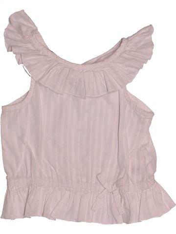 Blouse manches courtes fille H&M rose 2 ans été #1500401_1