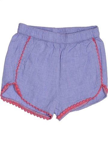Short-Bermudas niña H&M azul 12 meses verano #1500458_1
