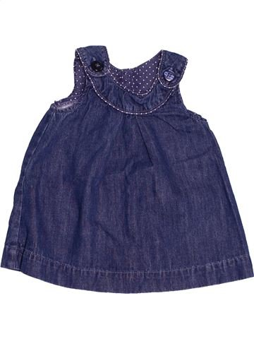 Vestido niña H&M azul 6 meses invierno #1500460_1