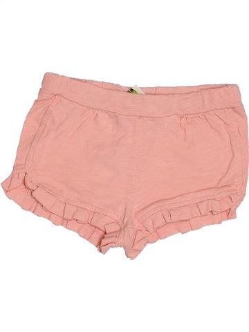 Short-Bermudas niña TAPE À L'OEIL rosa 12 meses verano #1500472_1