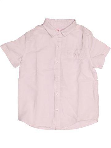 Chemise manches courtes garçon DPAM rose 6 ans été #1500629_1