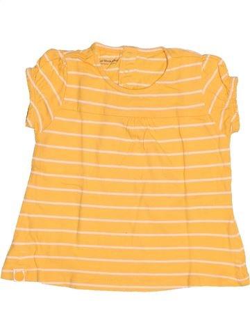 T-shirt manches courtes fille VERTBAUDET orange 3 ans été #1500701_1