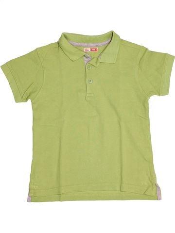 Polo de manga corta niño DPAM verde 6 años verano #1500702_1