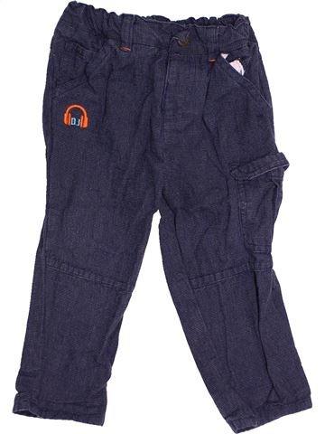 Pantalon garçon ORCHESTRA bleu 18 mois hiver #1500826_1