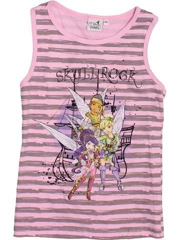 Camiseta sin mangas niña DISNEY rosa 8 años verano #1500854_1