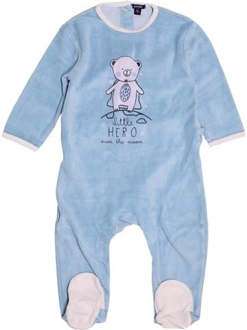 Pyjama 1 pièce garçon KIABI bleu 18 mois hiver #1500909_1