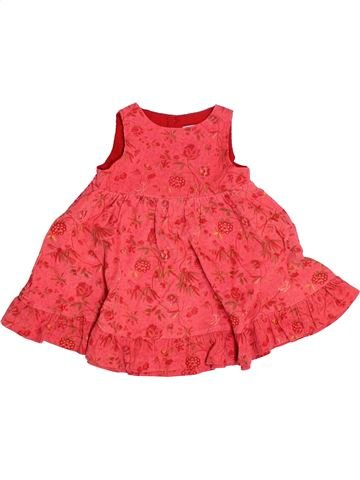 Robe fille NATALYS rouge 6 mois hiver #1501028_1