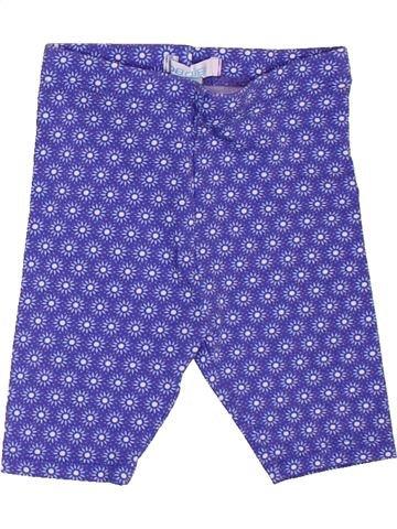 Legging fille OKAIDI violet 6 mois été #1501147_1