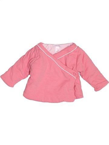 Sudadera niña OKAIDI rosa 3 meses invierno #1501161_1