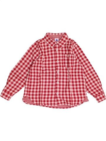 Camisa de manga larga niño PETIT BATEAU rosa 5 años invierno #1501213_1