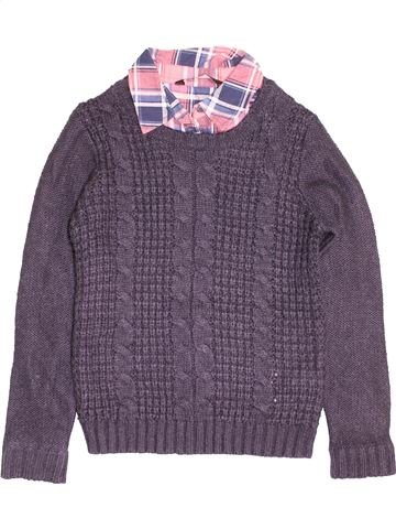 Pull fille NEW LOOK bleu 13 ans hiver #1501337_1