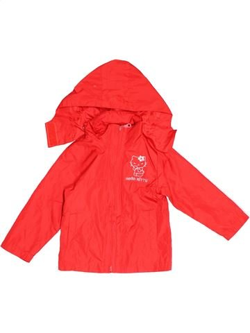 Parka - Trench fille HELLO KITTY rouge 4 ans été #1501378_1