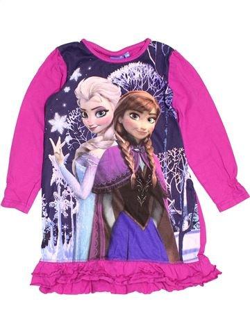 Chemise de nuit fille DISNEY rose 6 ans hiver #1501385_1