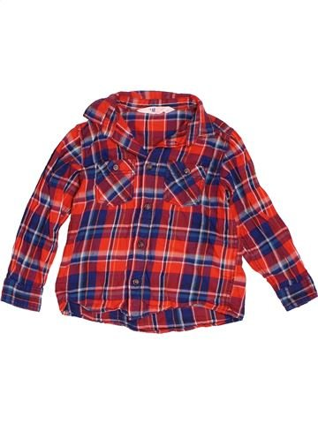 Chemise manches longues garçon H&M violet 3 ans hiver #1501482_1