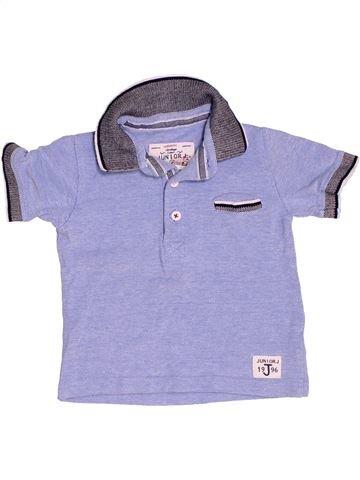 Polo de manga corta niño JASPER CONRAN azul 18 meses verano #1501567_1