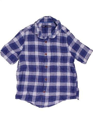 Camisa de manga corta niño NEXT azul 6 años verano #1501578_1