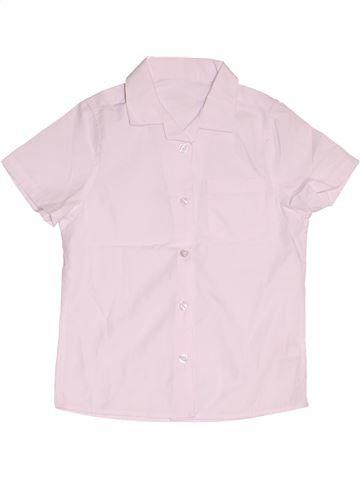 Chemise manches courtes garçon F&F rose 7 ans été #1501595_1